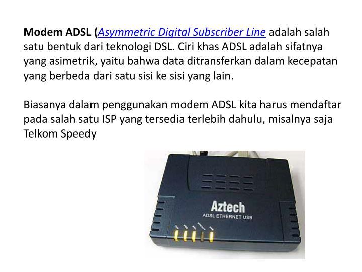 Modem ADSL (