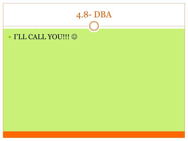 4.8- DBA