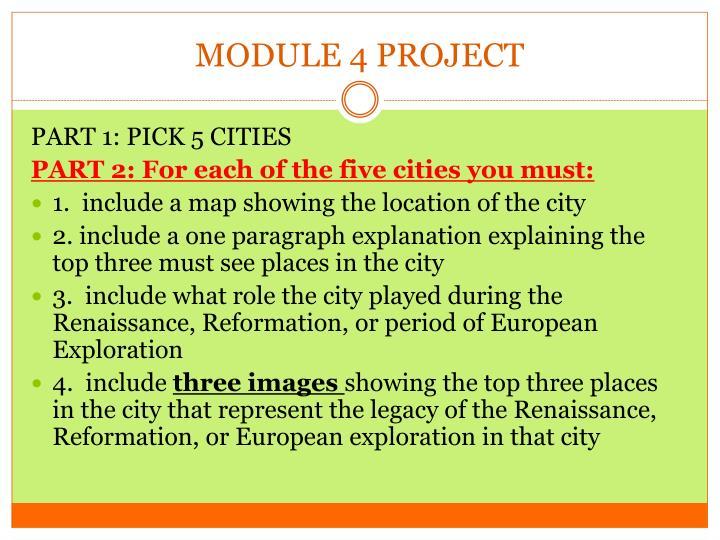 MODULE 4 PROJECT