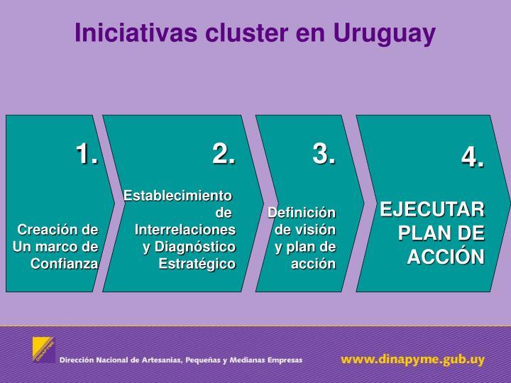 Iniciativas cluster en Uruguay