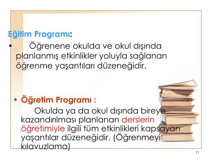 Eitim Program