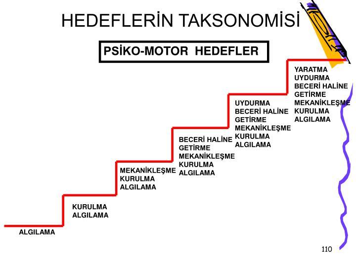 HEDEFLERN TAKSONOMS