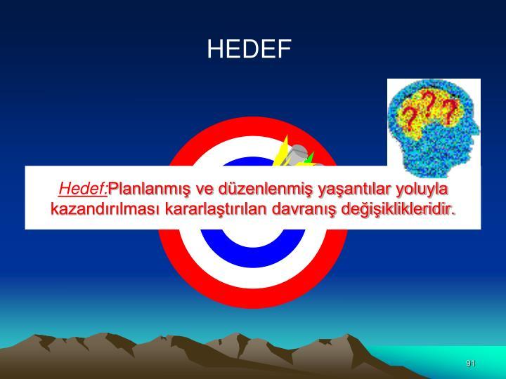Hedef: