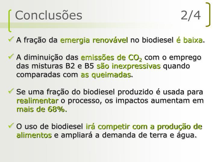 Conclusões                       2/4