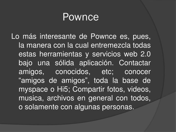 Pownce