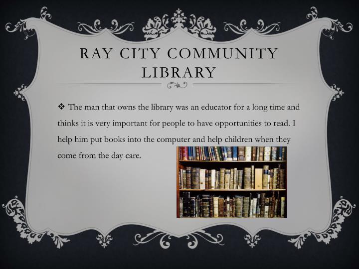 Ray City Community Library