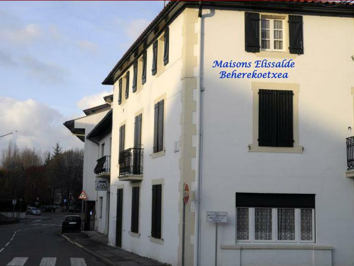 Maisons Elissalde