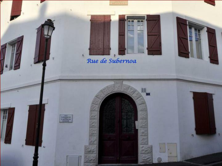 Rue de Subernoa