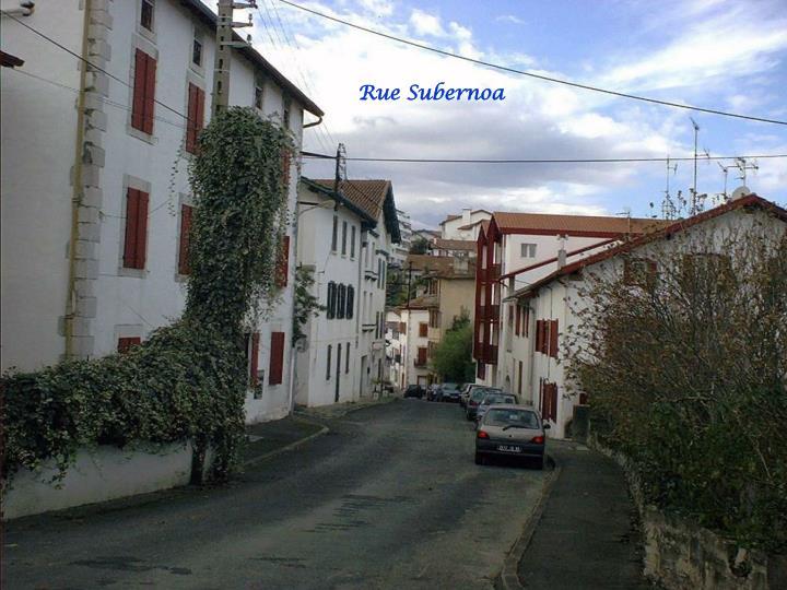Rue Subernoa