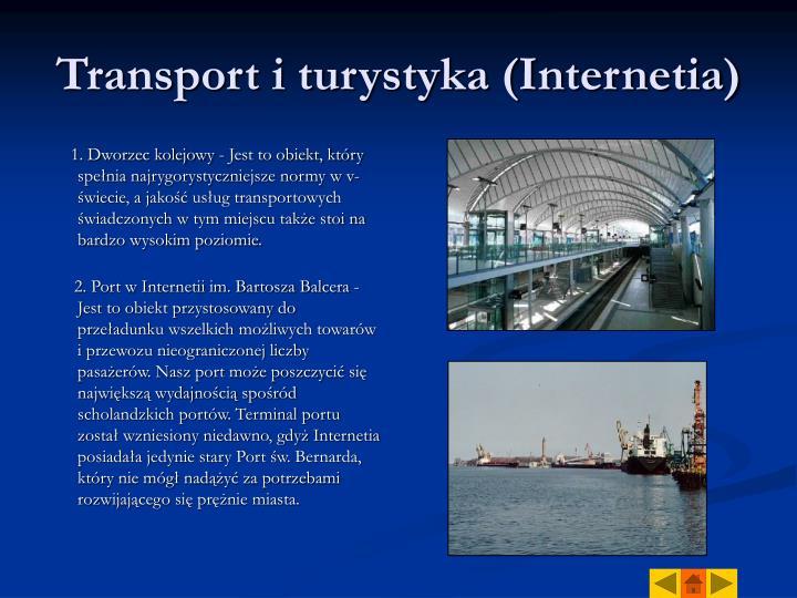Transport i turystyka (Internetia)