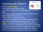 counting sets phase 41