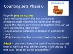 counting sets phase 61