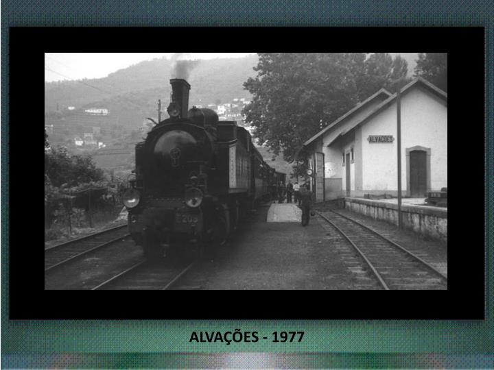 ALVAÇÕES - 1977