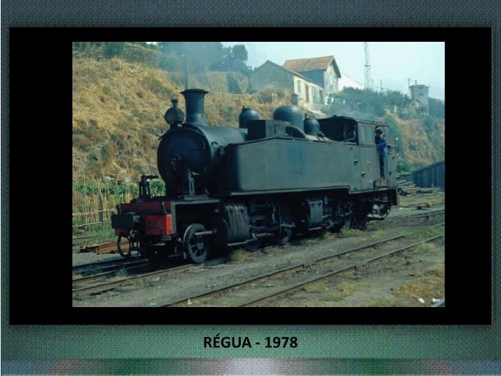 RÉGUA - 1978