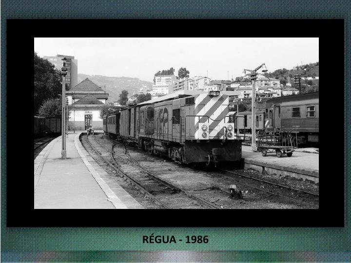 RÉGUA - 1986
