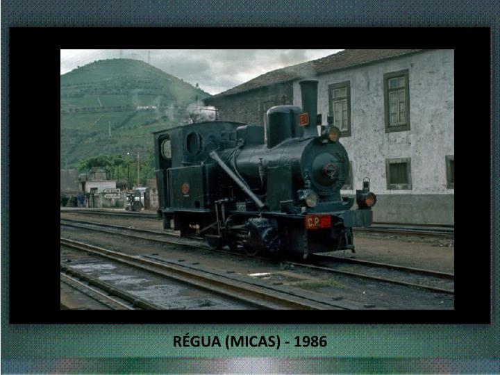RÉGUA (MICAS) - 1986