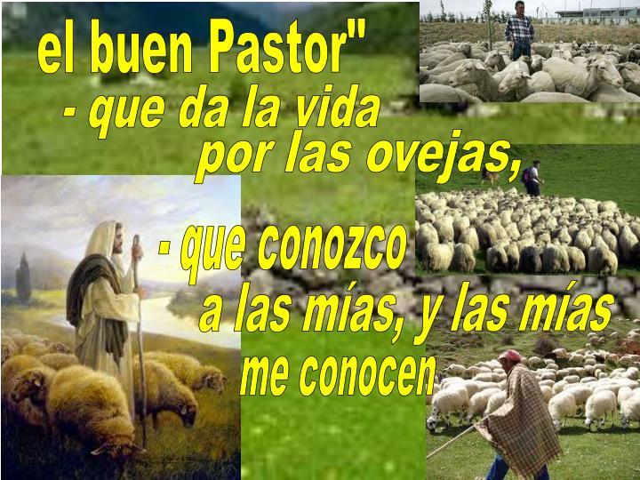 """el buen Pastor"""""""