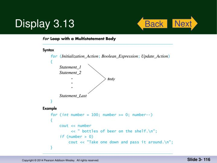 Display 3.13
