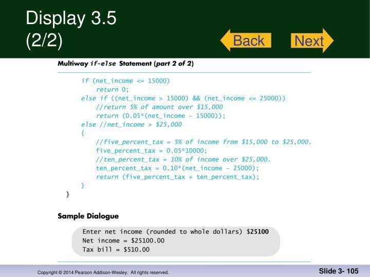 Display 3.5