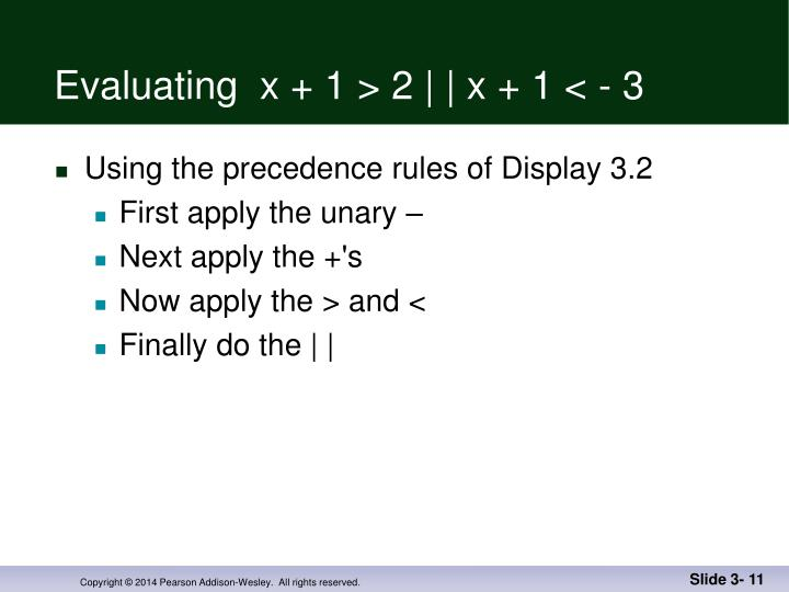 Evaluating  x + 1 > 2 | | x + 1 < - 3
