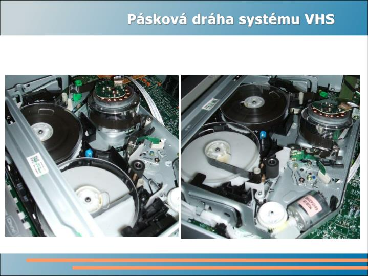 Pásková dráha systému VHS