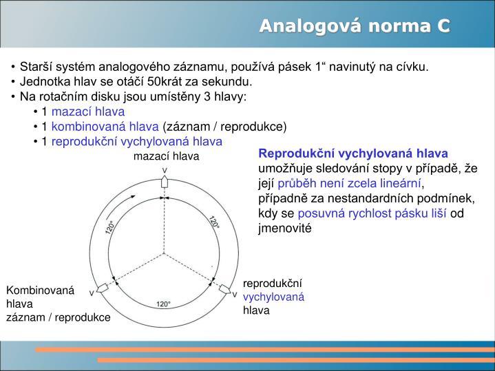 Analogová norma C