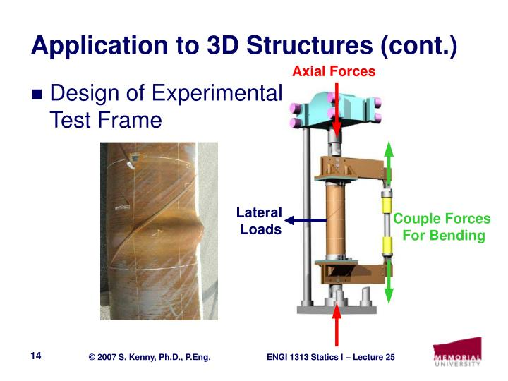 Application to 3D Structures (cont.)