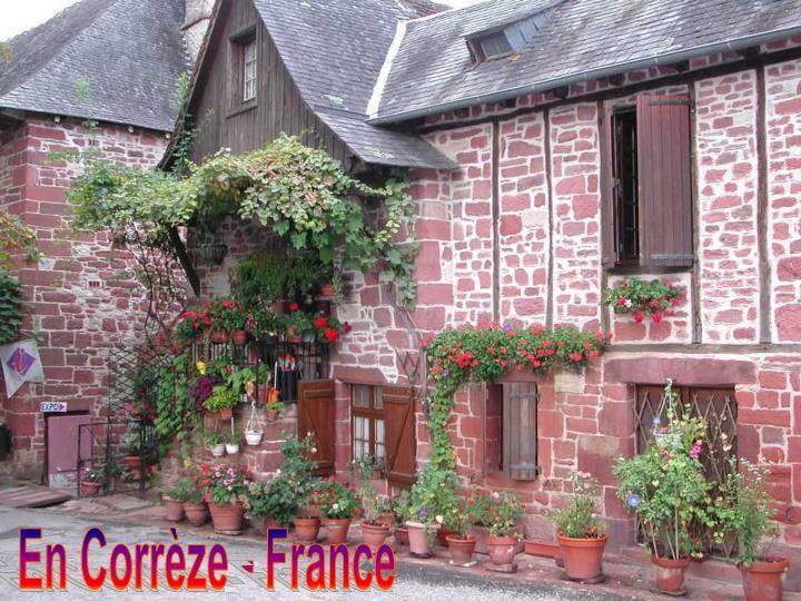 En Corrèze - France