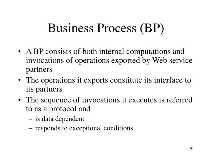 Business Process (BP)