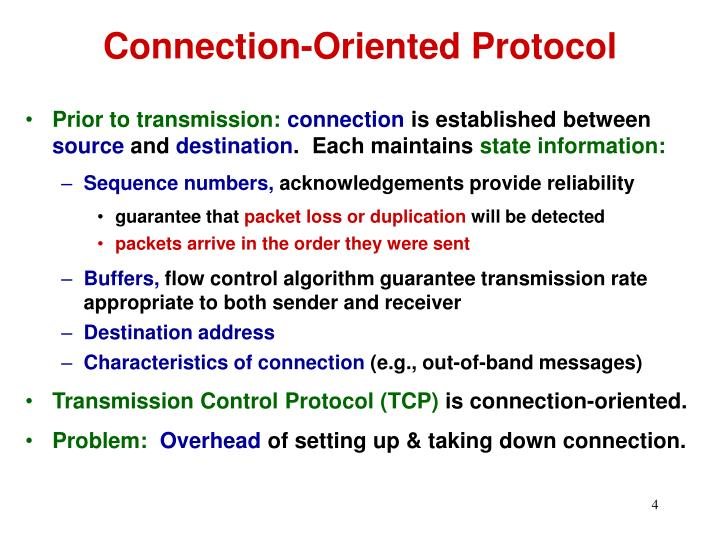 Connection-Oriented Protocol