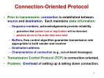 connection oriented protocol