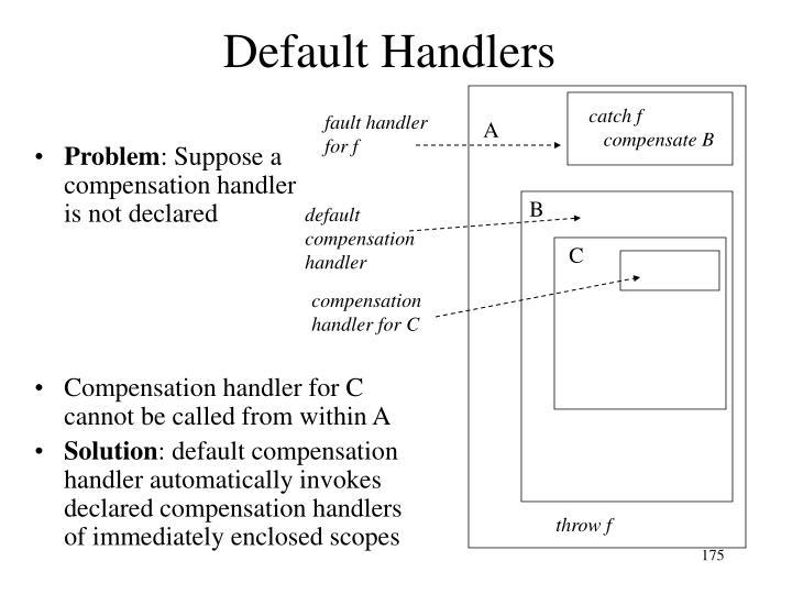 Default Handlers