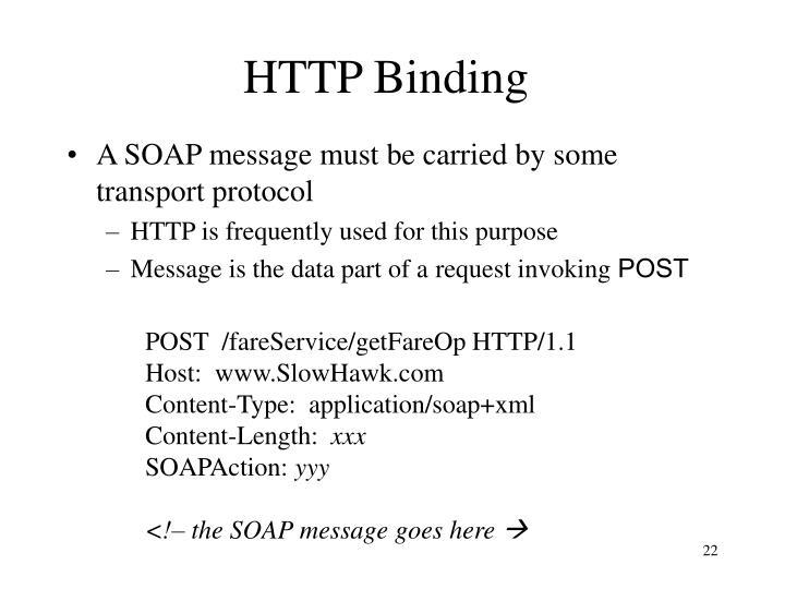 HTTP Binding