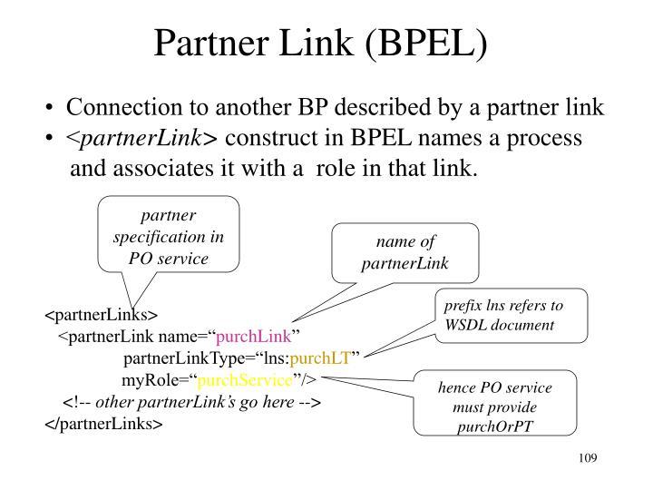 Partner Link (BPEL)