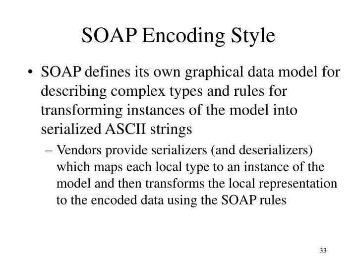 SOAP Encoding Style