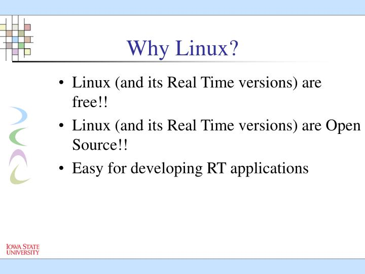 Linux (and its Real Time versions) are free!!