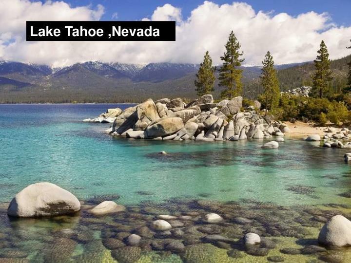 Lake Tahoe ,Nevada