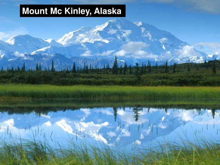Mount Mc Kinley, Alaska