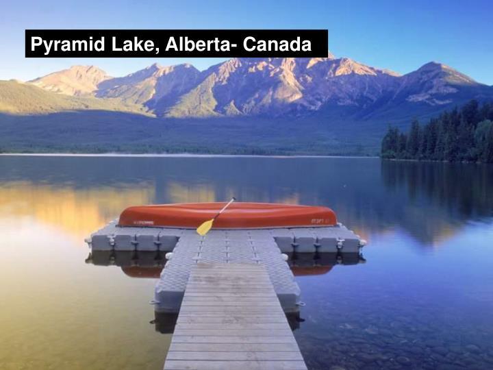 Pyramid Lake, Alberta- Canada