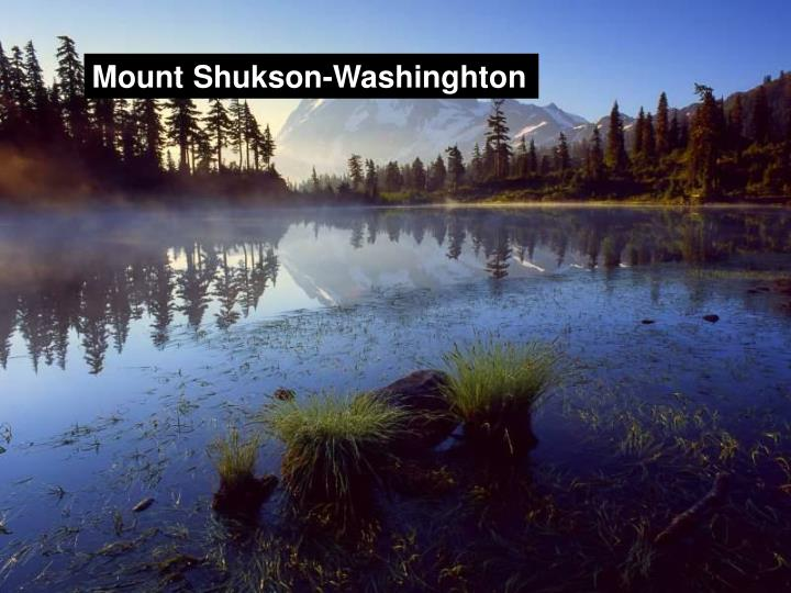 Mount Shukson-Washinghton