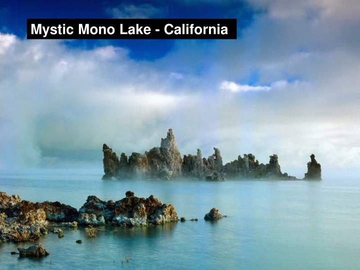 Mystic Mono Lake - California