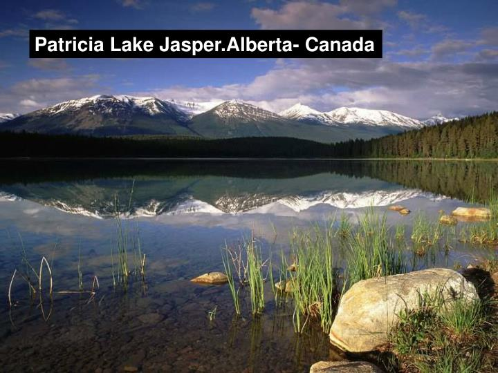 Patricia Lake Jasper.Alberta- Canada