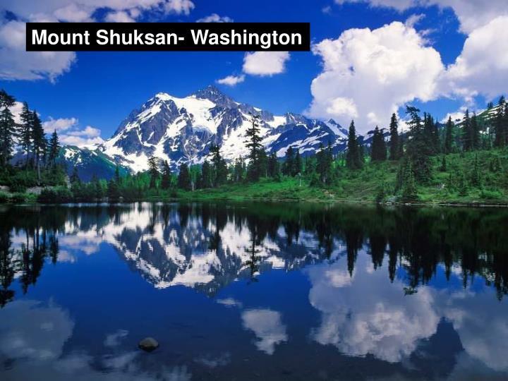 Mount Shuksan- Washington