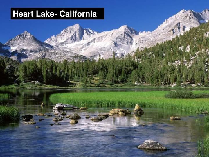 Heart Lake- California