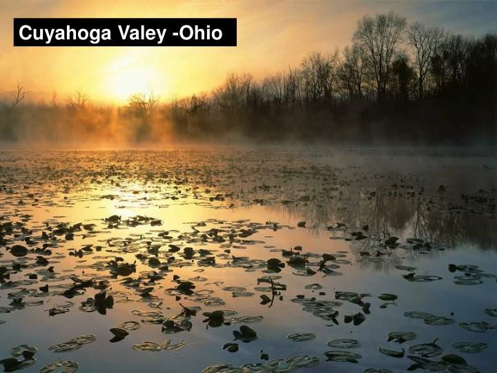 Cuyahoga Valey -Ohio