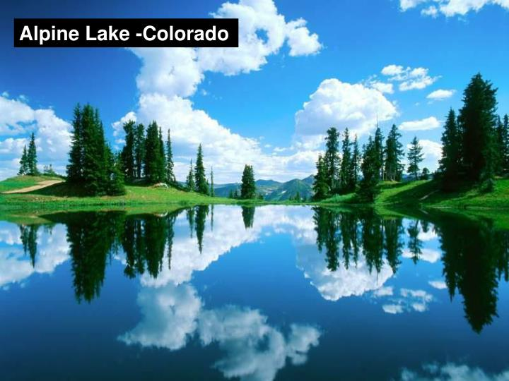 Alpine Lake -Colorado