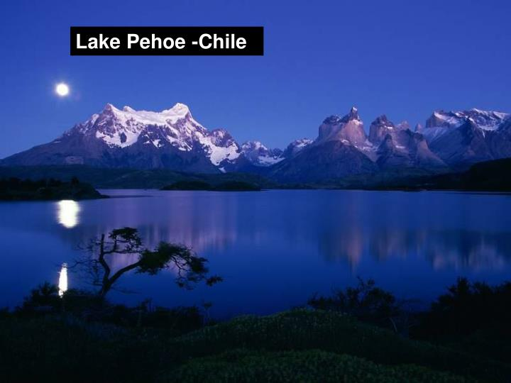 Lake Pehoe -Chile