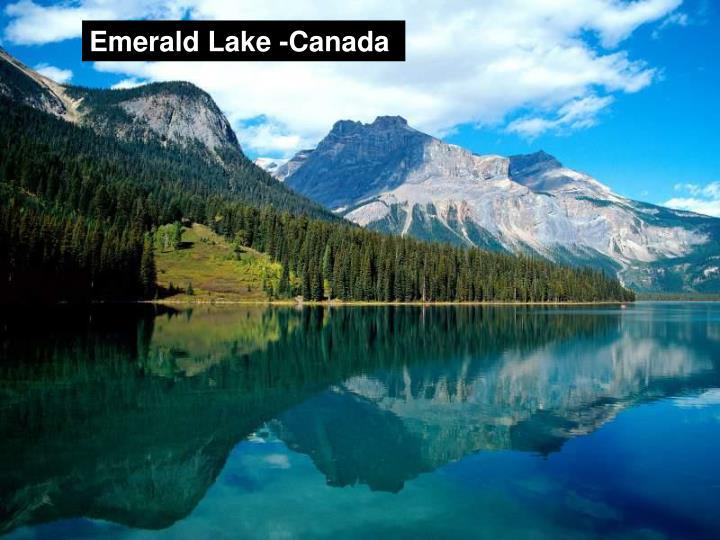 Emerald Lake -Canada
