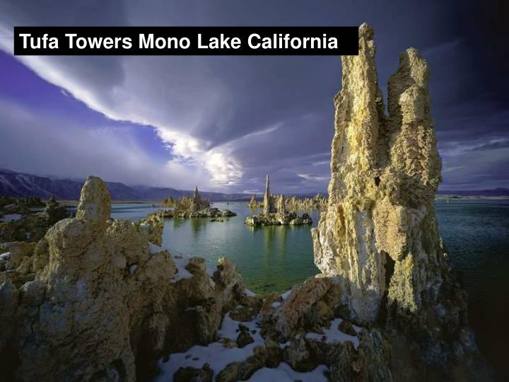 Tufa Towers Mono Lake California