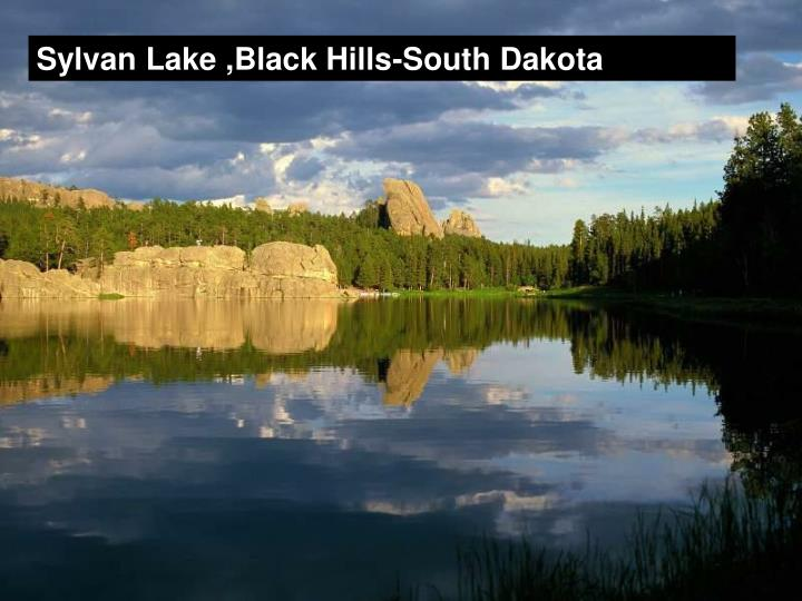 Sylvan Lake ,Black Hills-South Dakota